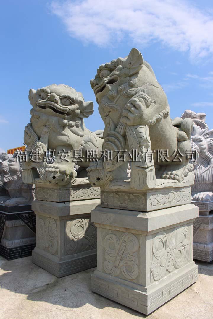 石雕工艺品狮子摆件