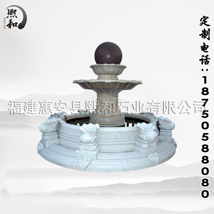 喷泉池又叫喷水池,常见于广场、公园等地,具有装饰的效果,同时还可以降低周围的温度,,夏季站在喷泉池旁特别凉爽。 喷泉池由以下部分组成。 1、基础:基础是水池的承重部分,有灰土和混凝图层组成,施工时先将基础底部素土夯实,密实度不的低于85%。灰土层厚30cm。 2、防水层:水池工程中,防水工程质量的好坏对水池安全使用及其寿命有直接影响,因此,正确选择和合理使用防水材料是保证水池质量的关键。